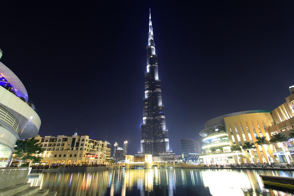burj khalifa night