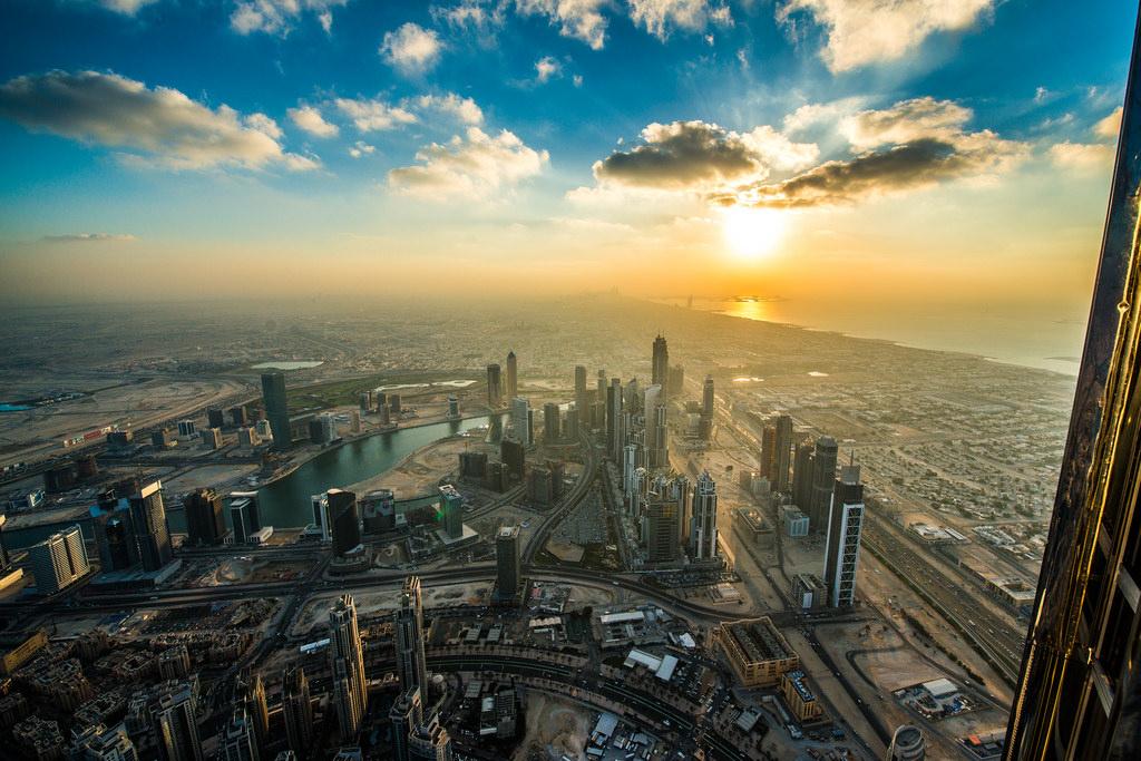 burj khalifa uitzicht