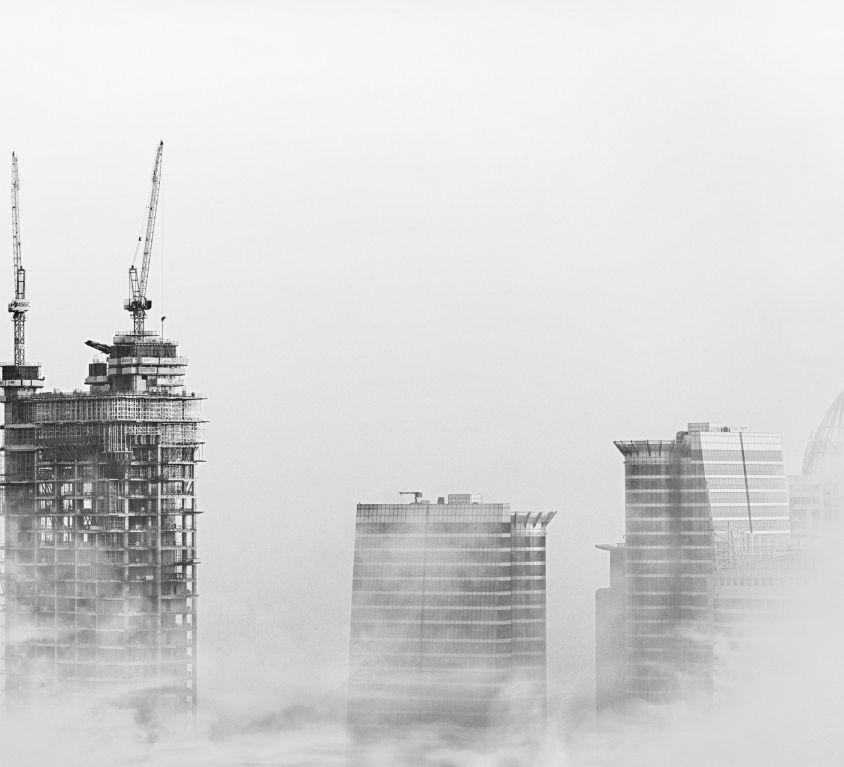 Dubai bouw skyscrapers